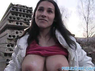 PublicAgent Women with massive tits fucked outdoors by stranger