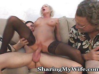 Жены,Блондинки,Минет