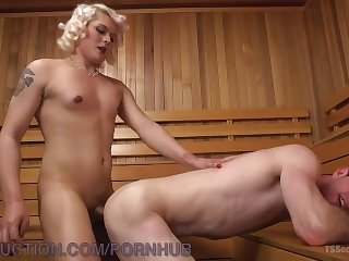 Hot Fucking In The Sauna