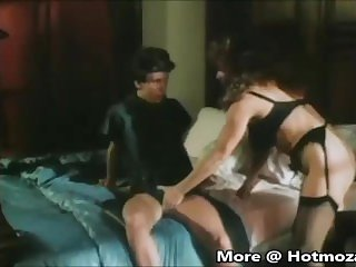 Vintage Milf fucking young son
