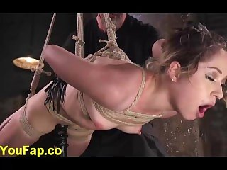 Strict Bondage And Nipple Torment