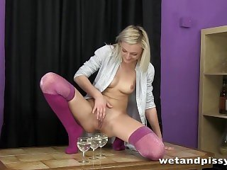 Kobiecy Wytrysk,Blondynki,Orgazm