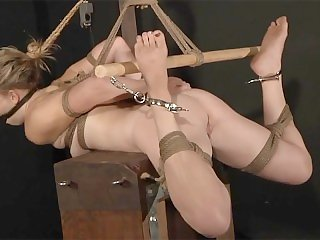 Hogtied and Punished