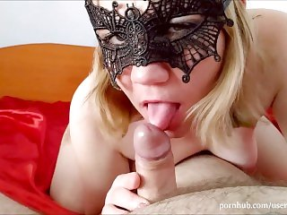 Halloween Mouthful Of Cum