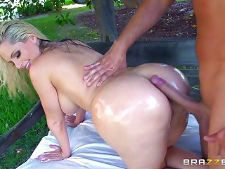 Brazzers - Alena Croft takes a cock in her ass