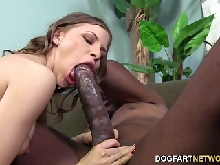 Avril Sun Takes Mandingo's Black Cock