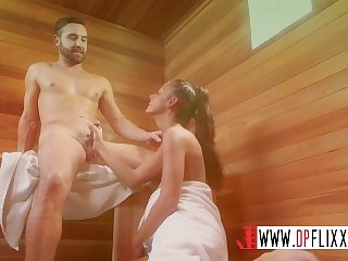 Digital Playground- Horny Strangers Fucking In The Steam Room