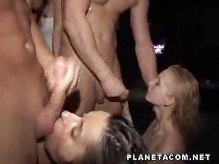 Partyhardcore 3 - Orgy with men as sex slaves