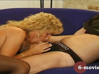 6-movies.com - Mature couple blowjob and hairy pussy eating -