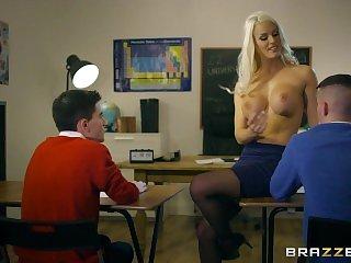 Училки,Втроем,Блондинки