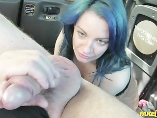 Horny wife JoJo cheats on her husband with the taxi driver