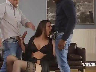 European slut Simony Diamond cheats on her boyfriend and gets punished