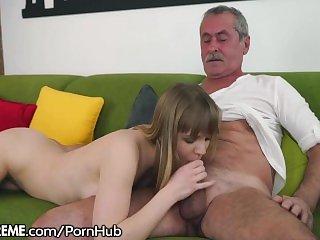 Dziadek,Ostry sex