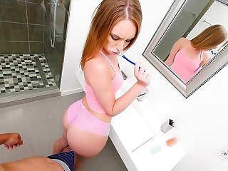 SisLovesMe - Horny Sis Has A Fat Ass