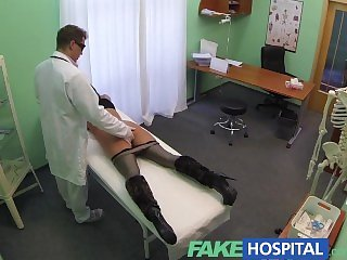 FakeHospital Mature sexy cheating wife needs doctors help for something