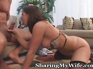 Hard Cock Inside My Wife's Pussy