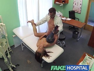 FakeHospital Gorgeous student just needs a good fucking from doctors cock