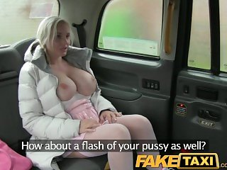 FakeTaxi Strip club girl gets fucked hard