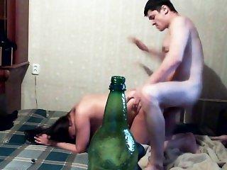 Гангбанг,В спортзале,Оргазм