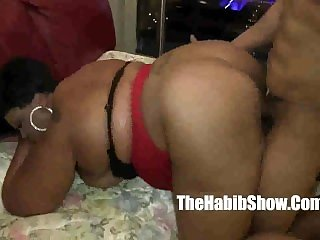 BBW cherryred banged by bbc redzilla banging that pussy hard